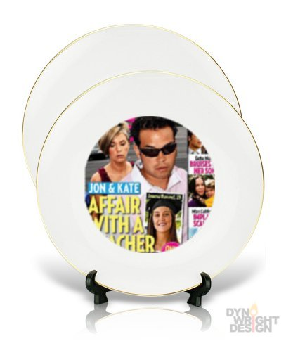 Jon & Kate Plus PLATE